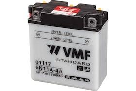 Accu van het merk VMF te gebruiken voor motoren en tuinbouw