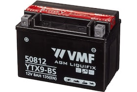 50812 VMf motorfiets accu 8Ah ytx9-bs 135A