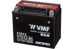 51012 VMF accu van 10Ah met een koudstart van 180 CCA