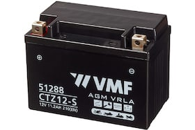 Deze VMF AGM motor accu heeft 11Ah en een koudstart van 210A