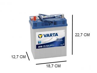 A15 Varta accu 40ah Blue Dynamic 540127033