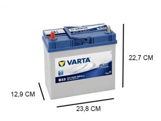 Varta B33 Blue Dynamic 45Ah - 545157033