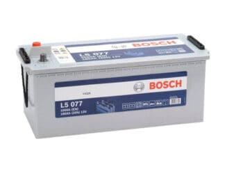 Dit is een BOsch L5077 semi tractie accu