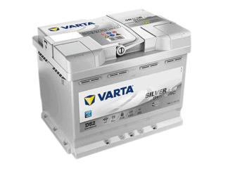 D52 Varta start-stop accu 60ah AGM Silver Dynamic 560901068