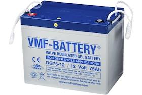 DG75-12 75Ah, 12V Gel accu VMF