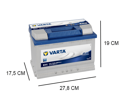 E11 varta blue dynamic