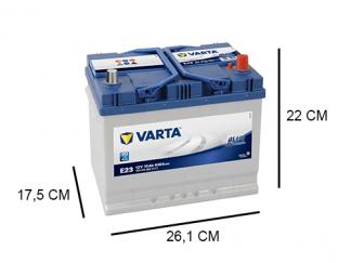 E23 Varta Blue Dynamic Auto accu
