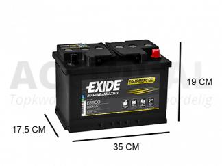 ES900 Gel accu van het merk Exide