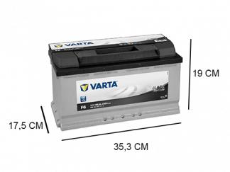 F6 Varta accu 90Ah Black Dynamic 590122072
