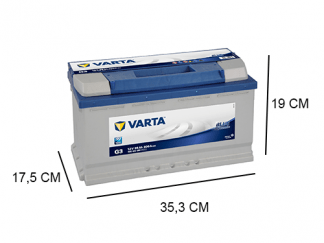 G3 varta blue dynamic