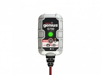 De G750 Noco Genius acculader 6V en 12V 0.75A