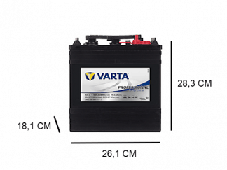 GC2_1 varta dc flooded 6v 208ah