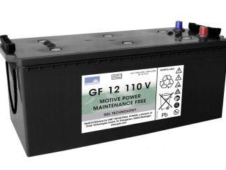 GF12-110V 116Ah Gelaccu van het merk Exide 12V