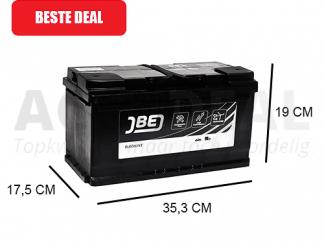 JBL100-HA 100Ah autoaccu van het merk JBE 800A , 12V