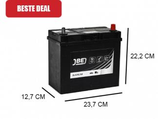 JBL45-E 45Ah accu van JBE 21V Japans