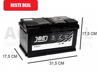 JBL86-A 86Ah autoaccu van het merk JBE 720A 12V