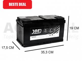 JBL95-HA 95Ah autoaccu van het merk JBE 12V 750A