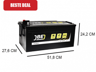 230Ah Semi-tractie accu uit de Yellowline van het merk JBE