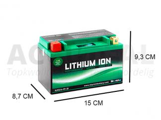 LTX14-BS motorfiets accu 12V Lithium YTX14-BS