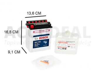 YB14-A2 Bosch accu 12V