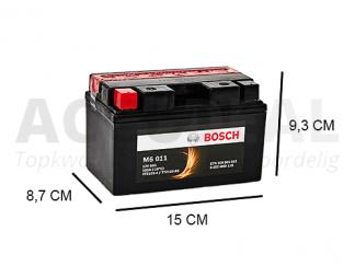 M60 011 8Ah motorfiets 12V Bosch accu