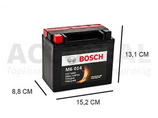 Bosch motorfiets YTX12-BS