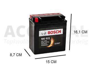 YTX16-BS-1 Bosch motorfiets AGM accu