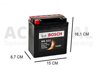 YTX16-BS Bosch accu