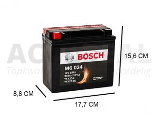 YTX20-BS Bosch motoraccu 12V