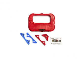 Montage kit met voetrand bevestigingen en beschermkap voor optima accu's