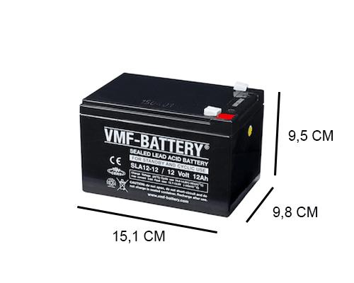 12V 12Ah VRLA AGM Accu van het merk VMF