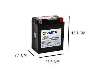 Varta YTX7L-4 Factory Activated motorfietsaccu 12V YTX7L-BS