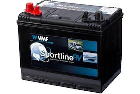 De VMF 24M Sprtline accu is een krachtige start accu die ook geschikt is voor een stukje stroomvoorziening