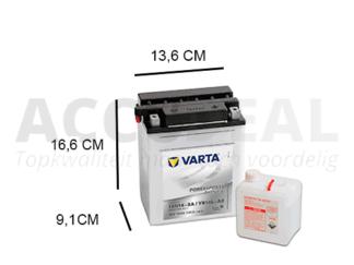 de Varta 14L-A2