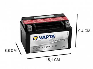 YTX7A-BS varta agm 12v 6ah