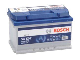 Een Bosch s4e07 accu