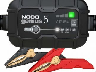 GENIUS5EU acculader van het merk NOCO met een laadstroom van 5A voor 6Ven 12V
