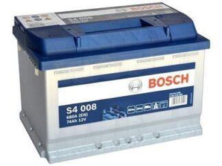 S4008 74Ah bosch autoaccu met 680A