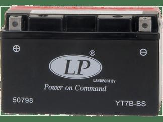 YT7B-BS landport motorfietsaccu 6.5 Ah (10hr)